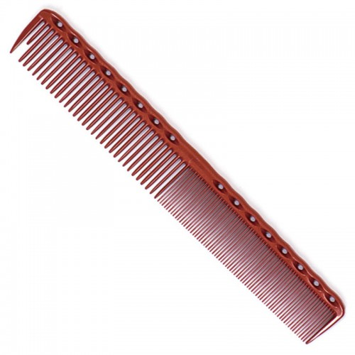 """YS Park 336 Cutting Comb 7.4"""" Red"""