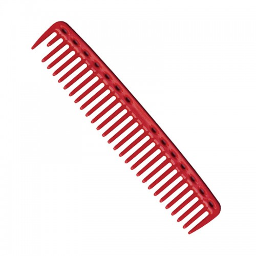 YS Park 452 Cutting Comb 9 Inches - Red