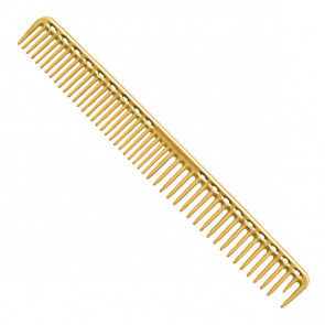 YS Park 333 Round Tooth Extra Long Cutting Comb - Camel