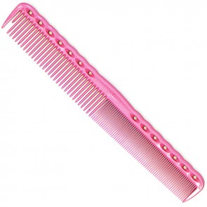 "YS Park 334 Cutting Comb 7.3"" - Pink"