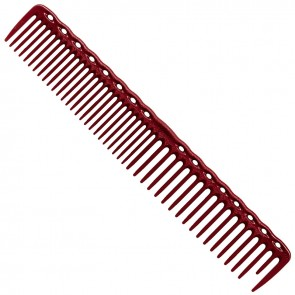 "YS Park 338 Cutting Comb 7.3"" - Red"