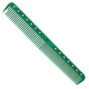 YS Park 339 Fine Cutting Comb 7 Inches - Green