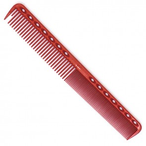"YS Park 339 Cutting Comb 7"" Red"