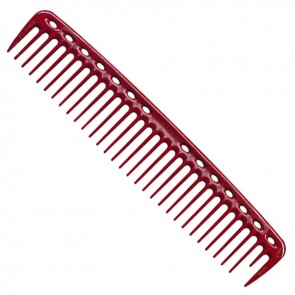 YS Park 402 Cutting Comb 7.5 Inches - Red