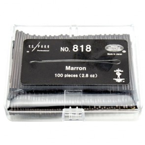 YS Park Pro Pins - 818 Marron (100 Pieces)