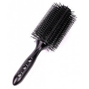 YS Park Straight Air Round Styler Brush, T70 Black