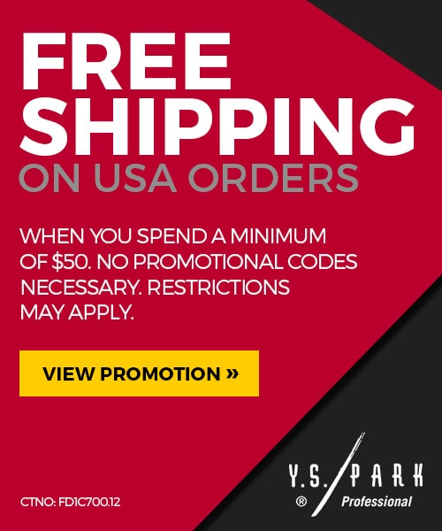 YS Park Free Shipping Promotion